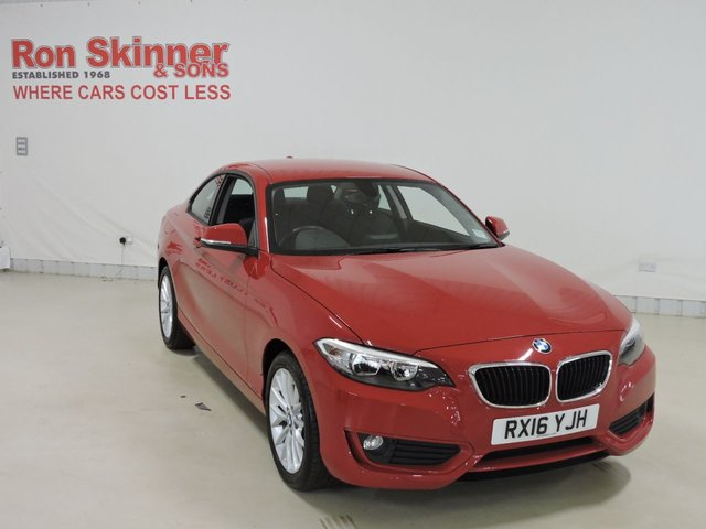 View our 2016 16 BMW 2 SERIES 1.5 218I SE 2d 134 BHP
