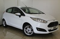 USED 2015 15 FORD FIESTA 1.0 ZETEC 5DR 99 BHP FULL SERVICE HISTORY + BLUETOOTH + AIR CONDITIONING + MULTI FUNCTION WHEEL + RADIO/CD + ELECTRIC WINDOWS + 15 INCH ALLOY WHEELS
