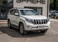 2015 TOYOTA LAND CRUISER 3.0 D-4D INVINCIBLE 5d AUTO 188 BHP £33890.00