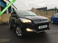 USED 2016 16 FORD KUGA TDCi Titanium AWD 5dr Just done 11,000 mls