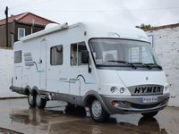 USED 2000 FIAT HYMER HYMERMOBILE B694 2.8 14 LWB TD 1d  5 Berth + Solar Panel + Awning + LPG Conversion SAT-NAV Double Beds