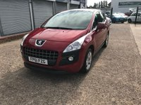 USED 2011 PEUGEOT 3008 1.6 SPORT E-HDI FAP 5d AUTO 112 BHP AUTOMATIC-SERVICE HISTORY-A/C-BLUETOOTH-ALLOY WHEELS-DIESEL