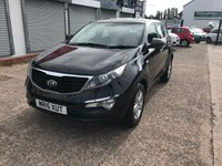 USED 2015 15 KIA SPORTAGE 1.7 CRDI 1 ISG 5d 114 BHP FULL MAIN DEALER HISTORY-1 OWNER-BLUETOOTH-CRUISE CONTROL