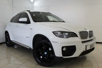 USED 2013 13 BMW X6 3.0 XDRIVE40D 4DR AUTOMATIC 302 BHP SAT NAV HEATED LEATHER SEATS + SAT NAVIGATION + REVERSE CAMERA + PARKING SENSOR + BLUETOOTH + CRUISE CONTROL + MULTI FUNCTION WHEEL + CLIMATE CONTROL + 20 INCH ALLOY WHEELS