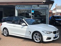 USED 2014 14 BMW 4 SERIES 428I M SPORT 2d AUTO 242 BHP Convertible Free MOT for Life