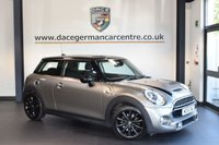 USED 2016 16 MINI HATCH COOPER 2.0 COOPER S 3d 189 BHP with full manufactures warranty + HALF LEATHER INTERIOR + FULL MINI SERVICE HISTORY + 1 OWNER FROM NEW + DAB RADIO + CHILLI PACK + CRUISE CONTROL + SPORTS SEATS + 16 INCH ALLOY WHEELS +