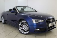 USED 2012 12 AUDI A5 3.0 TDI QUATTRO S LINE S/S 2DR AUTOMATIC 245 BHP SAT NAV SERVICE HISTORY + HEATED LEATHER SEATS + SAT NAVIGATION + PARKING SENSOR + BLUETOOTH + CRUISE CONTROL + MULTI FUNCTION WHEEL + CLIMATE CONTROL + 20 INCH ALLOY WHEELS