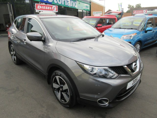 USED 2015 15 NISSAN QASHQAI 1.5 DCI N-TEC 5d 108 BHP CALL 01543 379066... 12 MONTHS MOT... 6 MONTHS WARRANTY... DIESEL.. MPV... FINANCE AVAILABLE