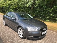USED 2008 58 AUDI A8 3.0 TDI QUATTRO 4x4  SPORT 4d AUTO 229 BHP 6 MONTHS PART AND LABOUR WARRANTY