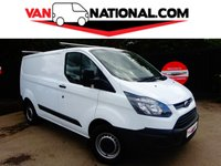 2015 FORD TRANSIT CUSTOM 2.2 270 LR P/V 100BHP (one owner low mileage) £9350.00