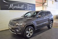 2014 JEEP GRAND CHEROKEE 3.0 V6 CRD OVERLAND 5d AUTO 247 BHP £17899.00