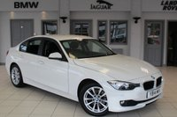 USED 2014 14 BMW 3 SERIES 2.0 320D SE 4d 184 BHP FULL BLACK LEATHER SEATS + FULL SERVICE HISTORY + SATELLITE NAVIGATION + BLUETOOTH + DAB RADIO + £30 ROAD TAX + HEATED FRONT SEATS + PARKING SENSORS + 17 INCH ALLOYS + CRUISE CONTROL + AIR CONDITIONING