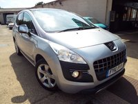 USED 2010 10 PEUGEOT 3008 1.6 EXCLUSIVE HDI 5d AUTO 110 BHP