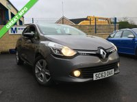USED 2014 63 RENAULT CLIO TD ENERGY Dynamique 5dr (start/stop, MediaNav) ZERO ROAD TAX
