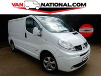 2014 RENAULT TRAFIC 2.0 SL27 SPORT DCI S/R P/V 115 BHP (Super low miles) £9895.00