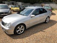 2006 MERCEDES-BENZ C CLASS 2.1 C220 CDI AVANTGARDE SE 4d AUTO 148 BHP £3650.00