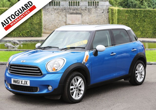 2012 61 MINI COUNTRYMAN 1.6 COOPER D 5d 112 BHP