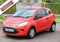 USED 2011 61 FORD KA 1.2 STUDIO 3d 69 BHP Drive away from only £20 p/w!