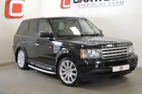 USED 2007 57 LAND ROVER RANGE ROVER SPORT 3.6 TDV8 HSE 5d AUTO 269 BHP LOW MILES + SERVICE HISTORY + PRIVACY GLASS + NAV