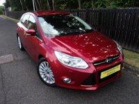 2012 FORD FOCUS 1.0 TITANIUM X 5d 124 BHP £8888.00