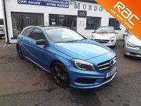 2013 MERCEDES-BENZ A CLASS 2.1 A220 CDI BLUEEFFICIENCY AMG SPORT 5d 170 BHP £11000.00