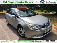 USED 2009 09 TOYOTA AVENSIS 1.8 TR VALVEMATIC 5d 145 BHP Full Toyota Dealer History!