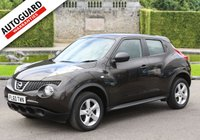 USED 2010 60 NISSAN JUKE 1.6 VISIA 5d 117 BHP Drive away from only £36 p/w!