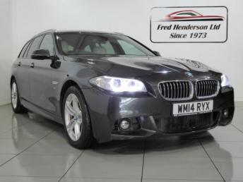 2014 BMW 5 SERIES 3.0 530d M Sport Touring 5dr £17990.00
