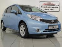 USED 2014 64 NISSAN NOTE 1.2 Acenta (Style Pack) 5dr £20 per year road tax.