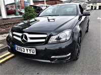 USED 2013 63 MERCEDES-BENZ C CLASS 2.1 C220 CDI BLUEEFFICIENCY AMG SPORT 2d AUTO 170 BHP