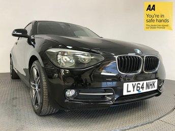 2015 BMW 1 SERIES 1.6 116I SPORT 3d 135 BHP £11695.00