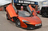 USED 2015 65 MCLAREN 650S 3.8 V8 SPIDER 2d  CARBON INTERIOR AND EXTERIOR PACK, MCLAREN WARRANTY