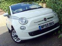 2009 FIAT 500 1.2 SPORT 3d 69 BHP £3999.00