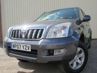 USED 2007 07 TOYOTA LAND CRUISER 3.0 D-4D LC4 8 STR 5d AUTO 171 BHP