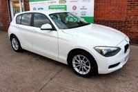 USED 2014 14 BMW 1 SERIES 2.0 116D SE 5d AUTO 114 BHP +SAT NAV +LOW Tax Band +FSH.