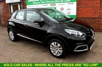 USED 2015 15 RENAULT CAPTUR 1.5 EXPRESSION PLUS ENERGY DCI S/S 5d 90 BHP +ONE OWNER +FREE TAX +EXTRAS.