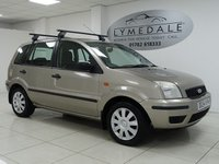 2004 FORD FUSION 1.6 FUSION 2 5d 100 BHP £1290.00