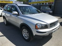 2007 VOLVO XC90 2.4 D5 S AWD 5d 183 BHP IN SILVER IN GREAT CONDITION...(TRADE CLEARANCE) £3499.00