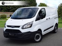 USED 2016 66 FORD TRANSIT CUSTOM 2.2 270 LR P/V 1d 99 BHP PLY LINED PLY LINED CHOICE OF VANS