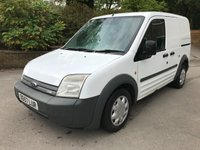 USED 2007 57 FORD TRANSIT CONNECT T200 75PS SWB FACELIFT