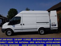 2011 FORD TRANSIT 100 350 MWB HIGH ROOF FROM THE NATIONAL GRID £6295.00