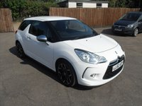 2010 CITROEN DS3 1.6 BLACK AND WHITE 3d  IN FANTASTIC CONDITION  £4500.00