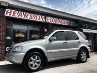 USED 2004 E MERCEDES-BENZ M CLASS 2.7 ML270 CDI 5d AUTO 163 BHP