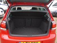 USED 2011 11 VOLKSWAGEN GOLF 1.4 TSI GT 3 Door Hatchback In Red