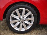 USED 2011 11 VOLKSWAGEN GOLF 1.4 TSI GT 3 Door Hatchback In Red With Alloys