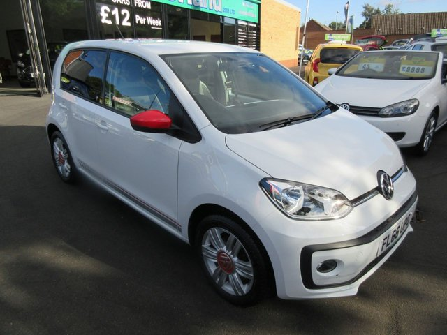 USED 2016 66 VOLKSWAGEN UP 1.0 UP BY BEATS BLUEMOTION TECHNOLOGY 5d 74 BHP VOLKSWAGEN WARRANTY... FREE TAX... LOW MILEAGE... 1 OWNER
