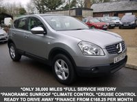 USED 2007 07 NISSAN QASHQAI 2.0 Acenta 5 Door SUV In Silver With Panoramic Roof