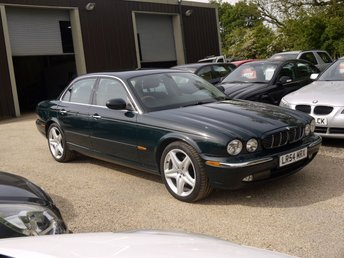 2004 JAGUAR XJ 3.0 V6 Sovereign In Green / Full Black Leather £4295.00