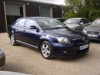 2007 TOYOTA AVENSIS 1.8 VVT-I T3-X 5 Door Hatchback In Blue £3495.00