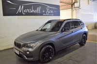 USED 2013 63 BMW X1 2.0 XDRIVE18D XLINE 5d 141 BHP FROZEN MINERAL GREY